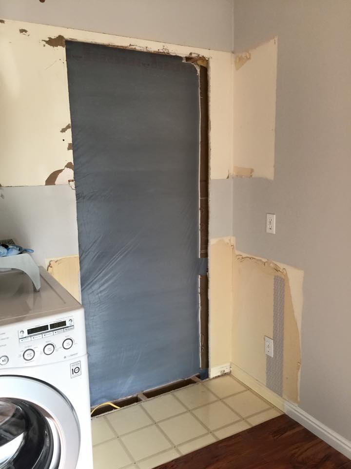Laundry Door