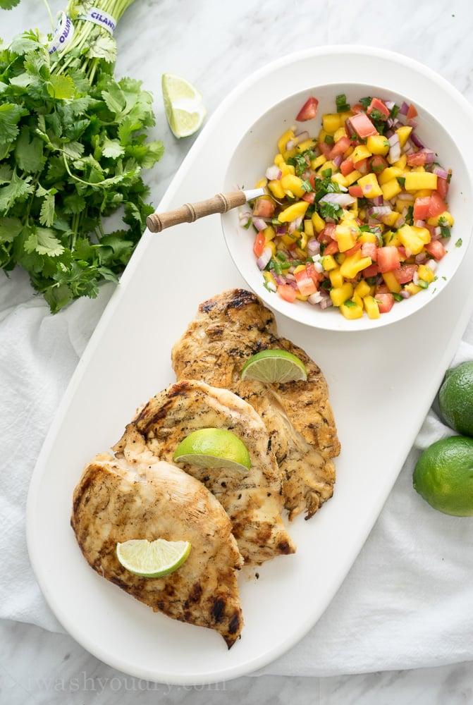 Mango Margarita Chicken