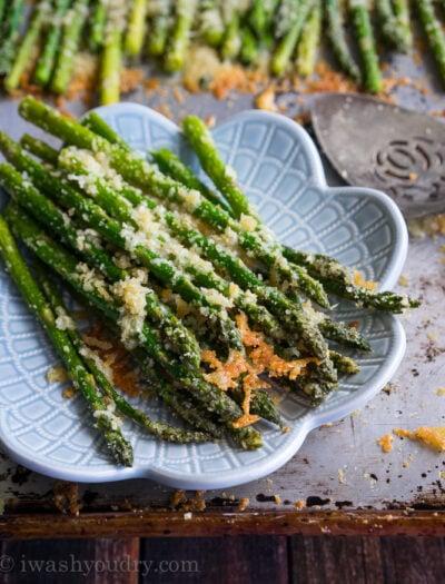 Parmesan Roasted Asparagus