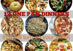 One Pan Dinners that will turn on your skillet!