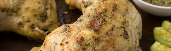 Pesto Chicken with Zucchini