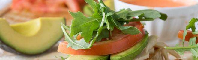 Avocado and Chicken Ciabatta Sandwich