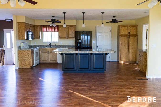 The transformation of this kitchen is incredible!