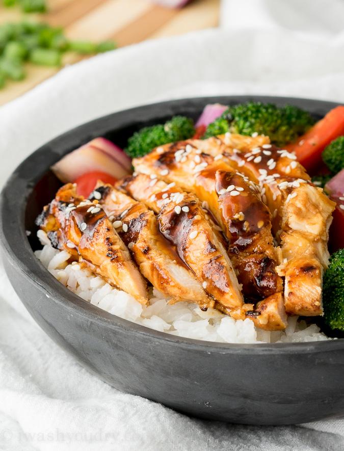 Super Easy Teriyaki Chicken