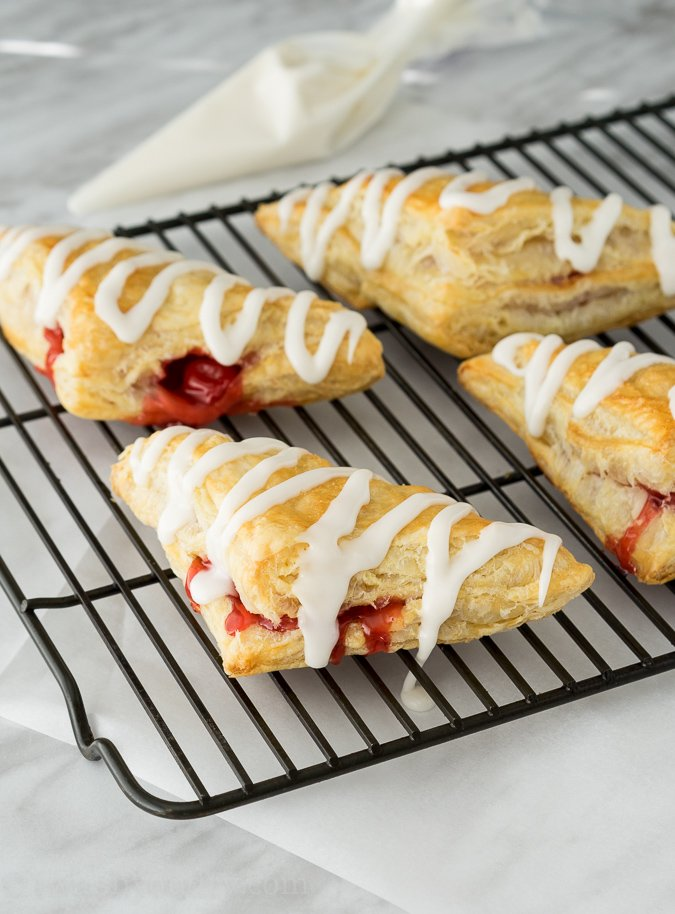 Super Easy Cherry Turnovers - I Wash... You Dry