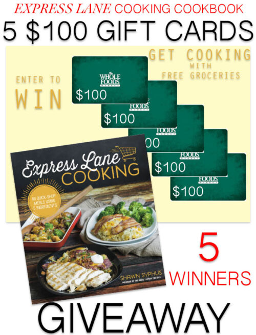 Express Lane Cooking Giveaway