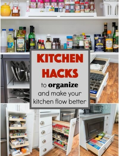 These Kitchen Hacks to Organize and Make Your Kitchen Flow Better are Amazing!