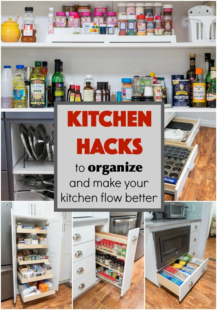 kitchen office organization ideas kitchen hacks to organize and make your kitchen flow better 19938