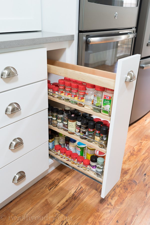 Pull Out Spice Drawer!