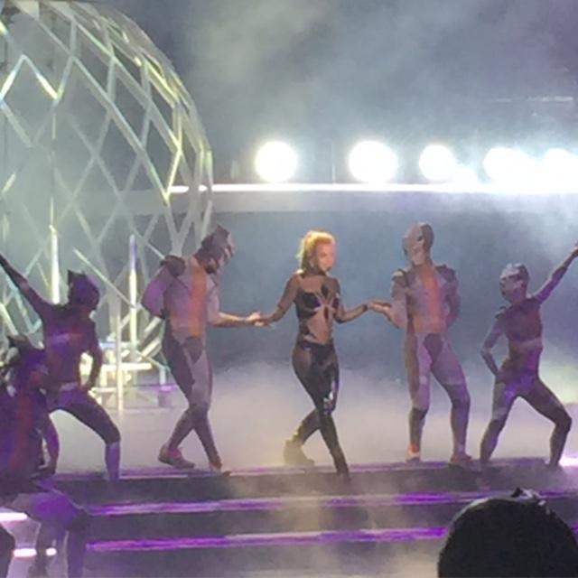 Britney Spears in Concert in Las Vegas