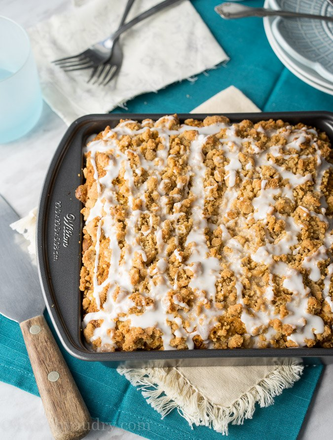 Pumpkin Crumb Cake Recipe