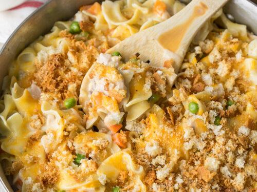 Tuna Noodle Skillet Casserole