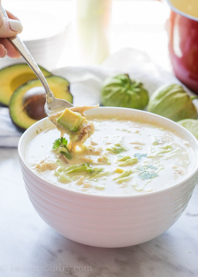 Smoky White Chicken Chili