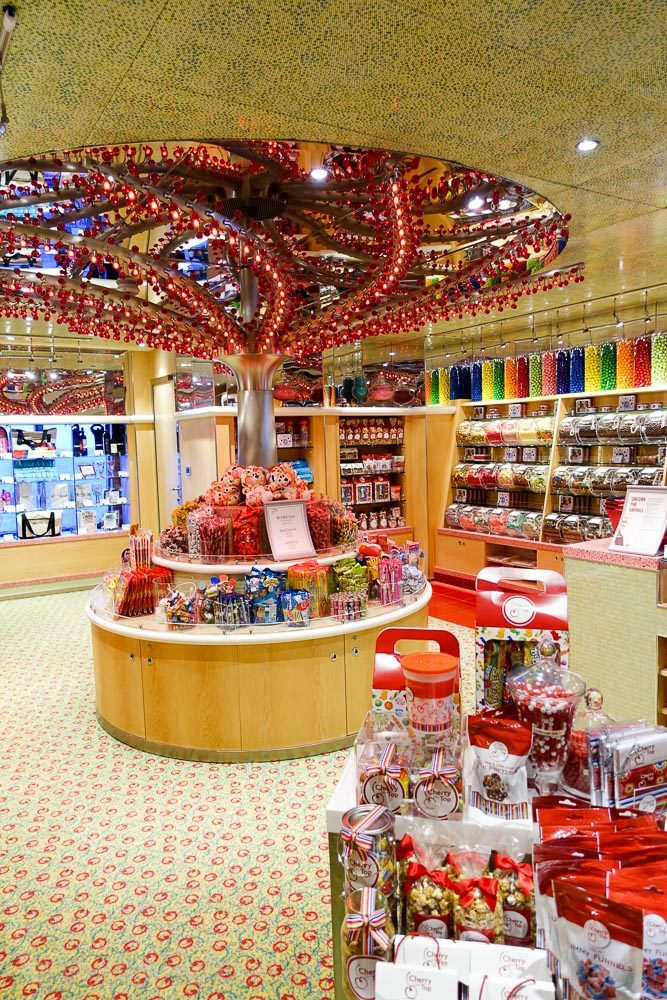 Carnival Sunshine Candy Shoppe
