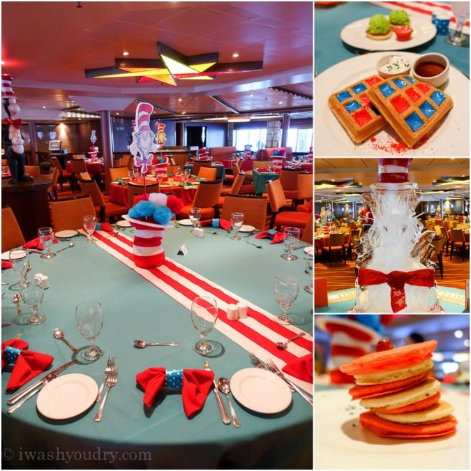 Cat in the Hat Brunch on the Carnival Sunshine