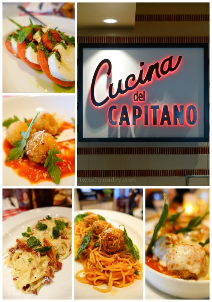 Cucina del Capitano on Carnival Sunshine