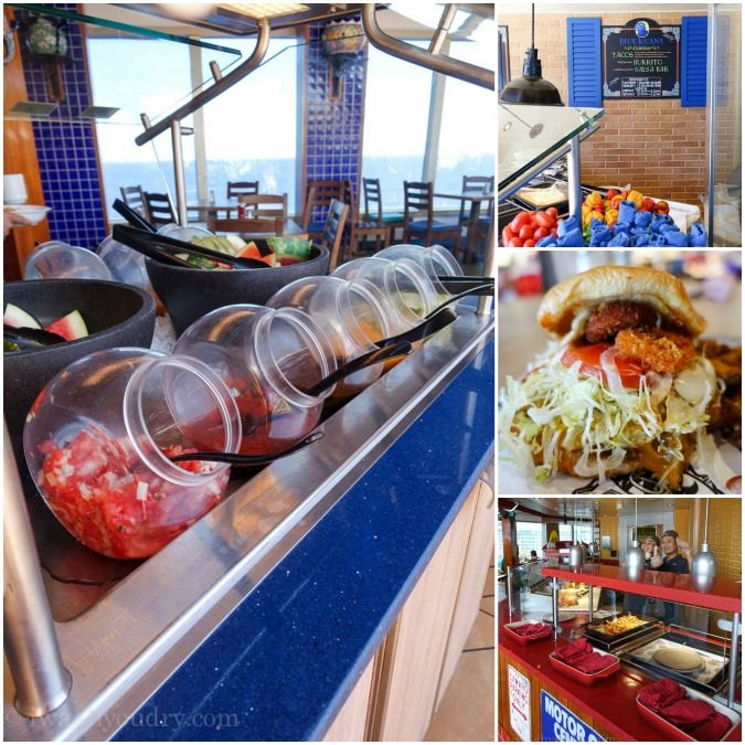 Free Dining Options aboard the Carnival Sunshine