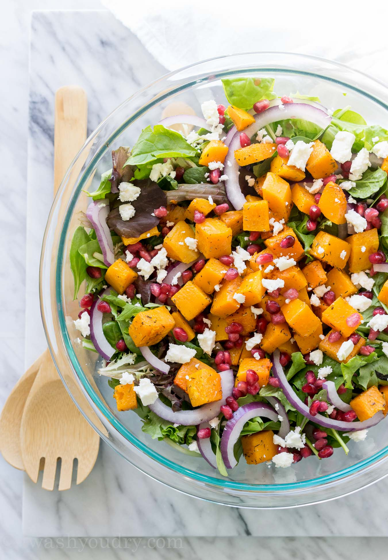 Butternut Squash Fall Salad