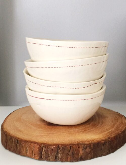 Customized Ceramic Cereal Bowls! What a great Christmas Gift Idea!