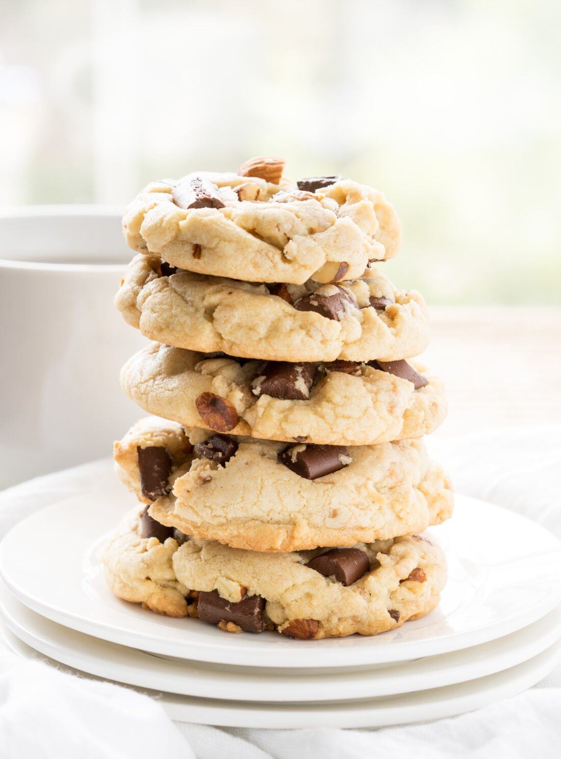 Almond Toffee Chocolate Chunk Cookies - I Wash... You Dry