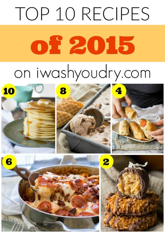 I love all of these recipes from I Wash You Dry, but #1 is my favorite for sure!