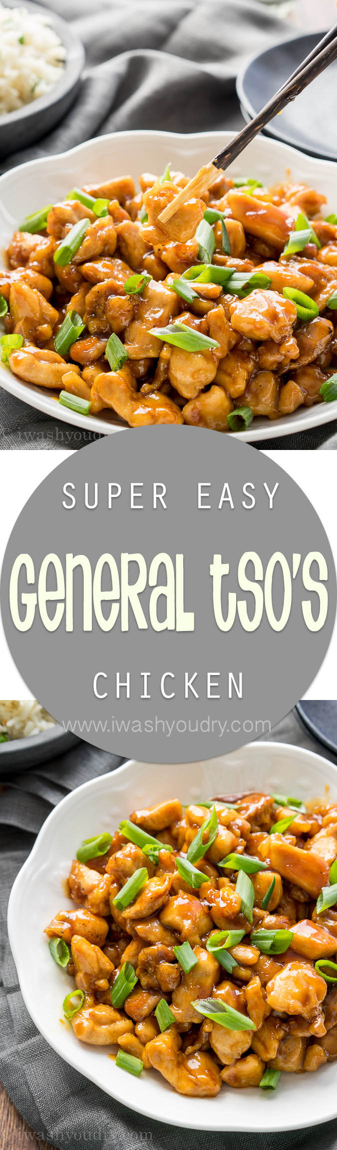 I love this simple and easy General Tso's Chicken recipe! So good!