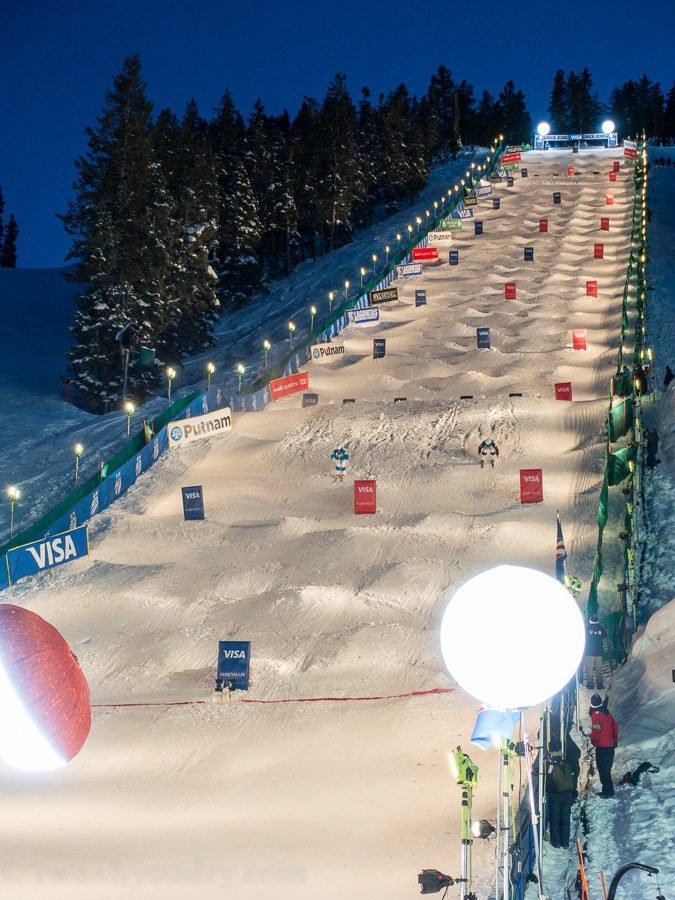 World Cup Dual Mogul Event at Deer Valley 2016