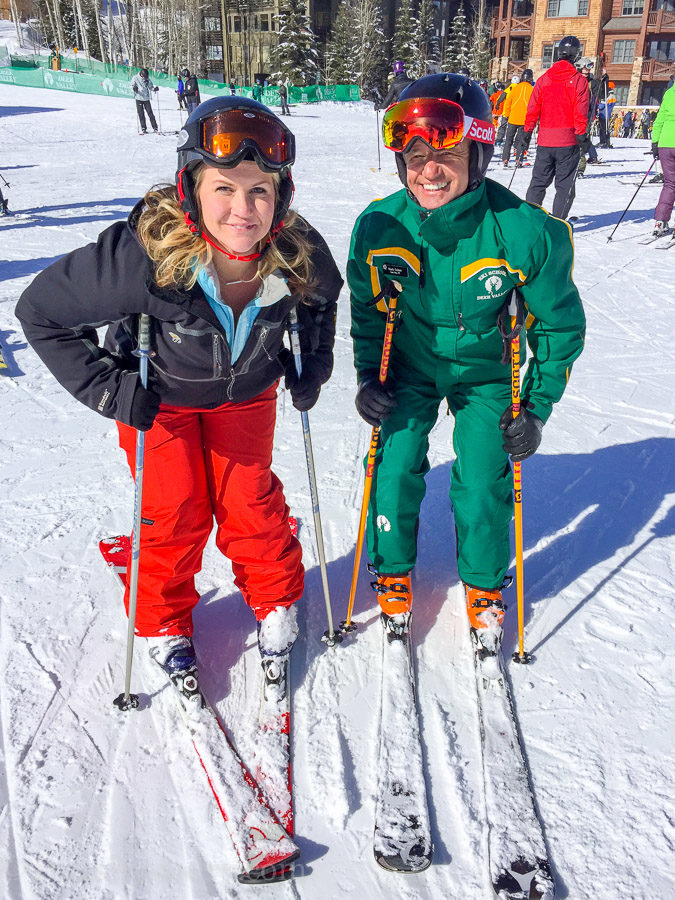 The instructors at Deer Valley Ski Resort are some of the BEST out there!