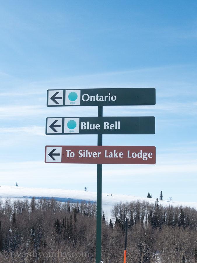 Ski Trails at Deer Valley Ski Resort