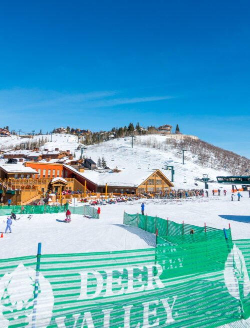 Deer Valley Ski Resort in Park City Utah