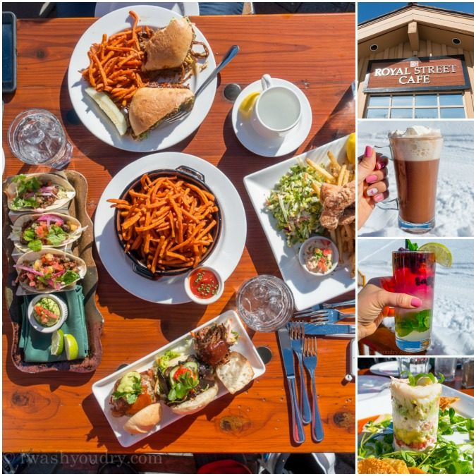 Royal Street Cafe at Deer Valley Ski Resort