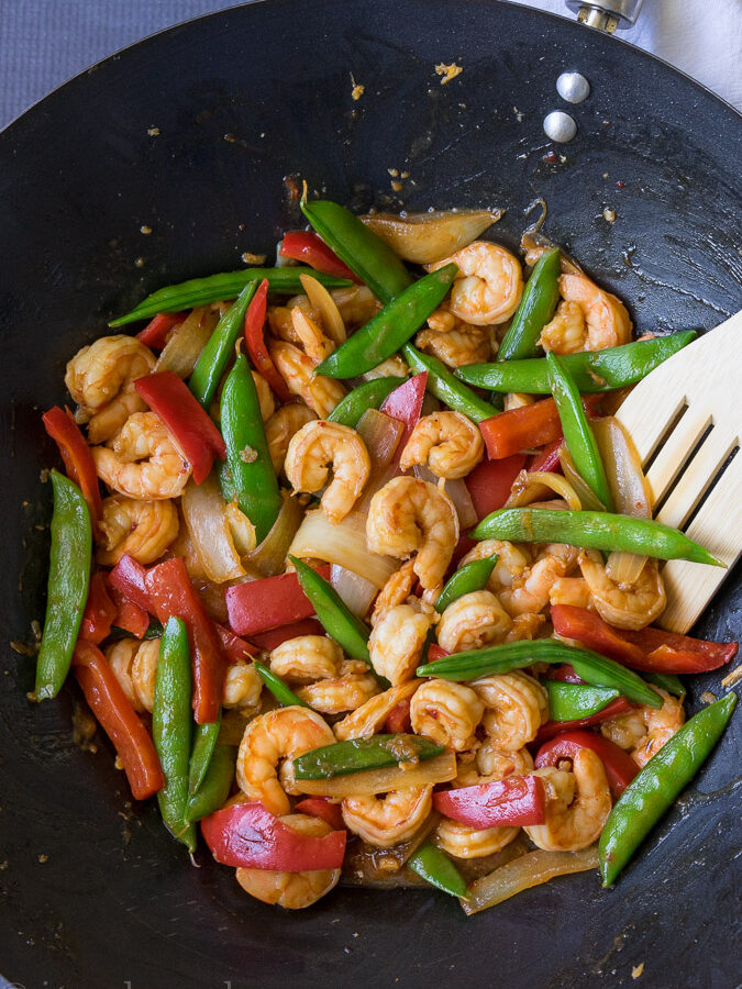 Chili Shrimp Stir Fry