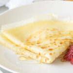 These Honey Butter Crepes are super simple to make and are filled with soft butter then drizzled with sweet honey. Perfect for breakfast in bed!