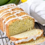 Lemon Poppy Seed Zucchini Bread-5