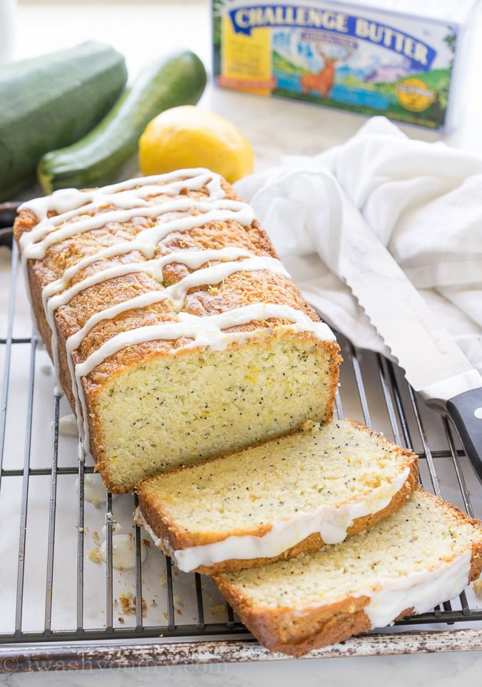 I've already made this Lemon Poppy Seed Zucchini Bread recipe 5 times! It's so good!