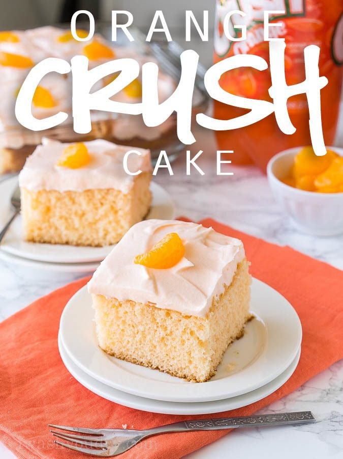 Easy Orange Crush Cake Recipe