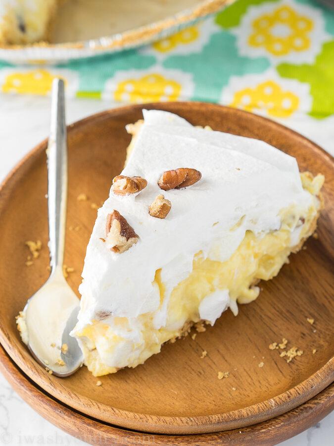Pineapple Fluff Pie