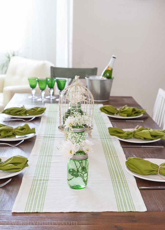 LOVE this gorgeous table setting!