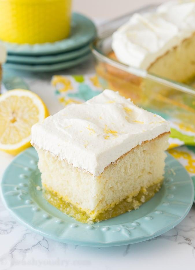 Lemon Bar Magic Cake Recipe