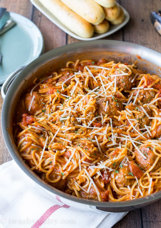 Recipe: The Best and Easiest Spaghetti Meatballs