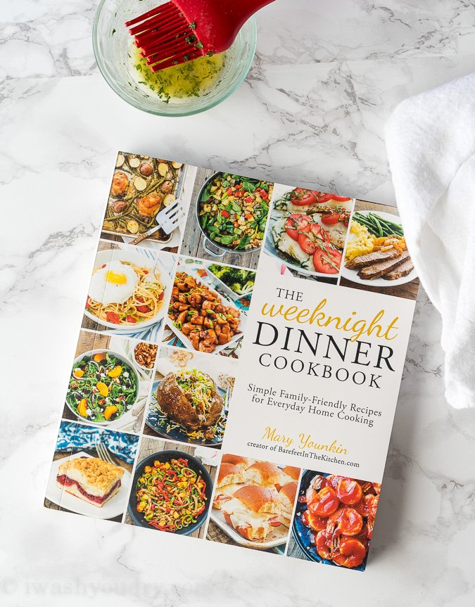 The Weeknight Dinner Cookbook! Full of great and easy family recipes!
