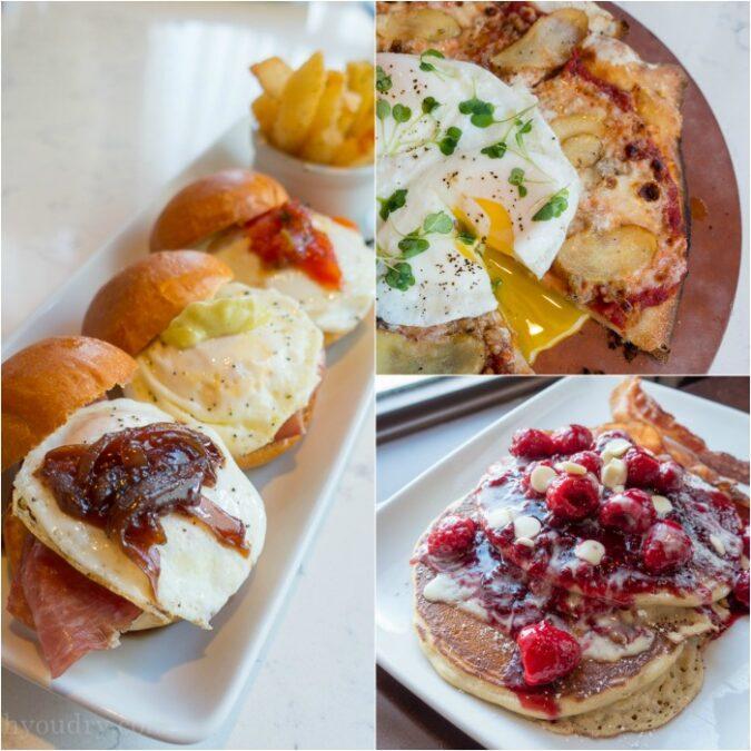 Trattoria al Forno - breakfast!