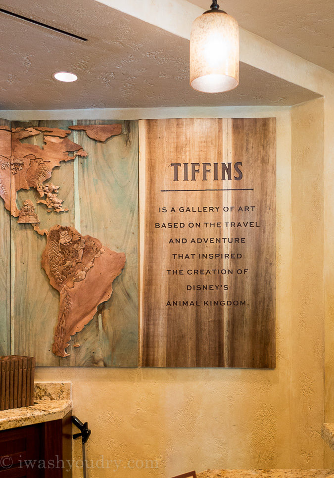 Tiffins Restaurant in Walt Disney World's Animal Kingdom