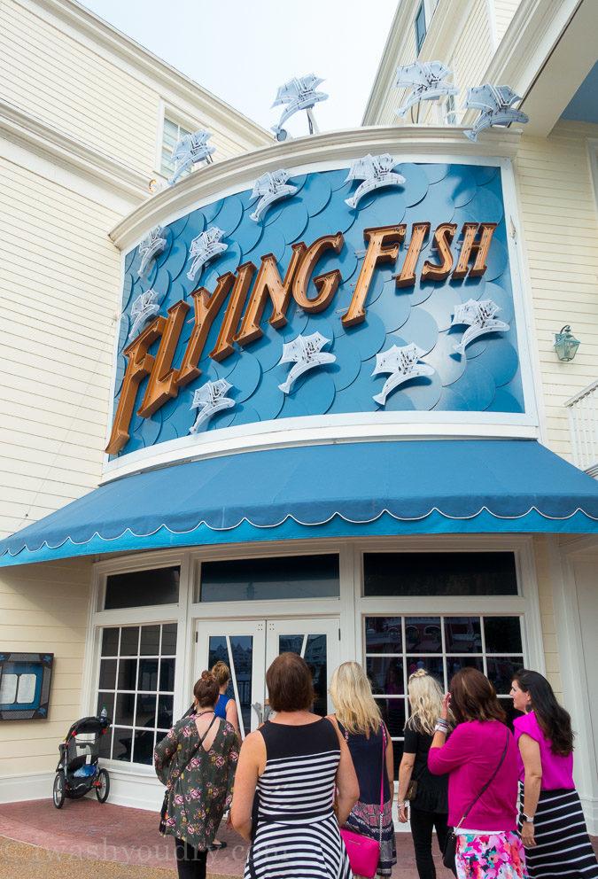 The Flying Fish Cafe near Disney's Boardwalk Resort