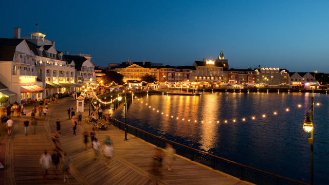 Disney's Boardwalk Resort in Orlando Florida