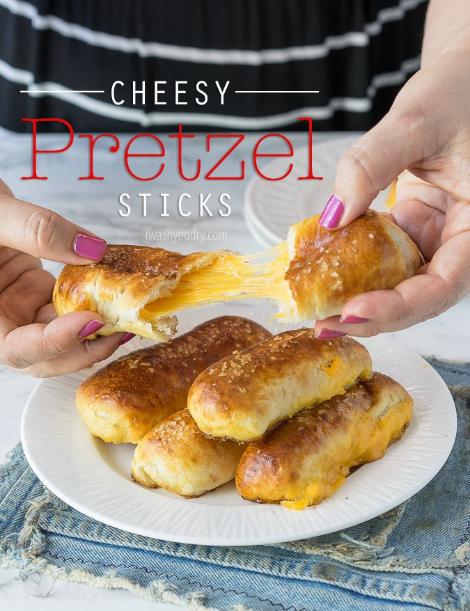 Cheesy pretzel sticks i wash you dry recipe image forumfinder Images