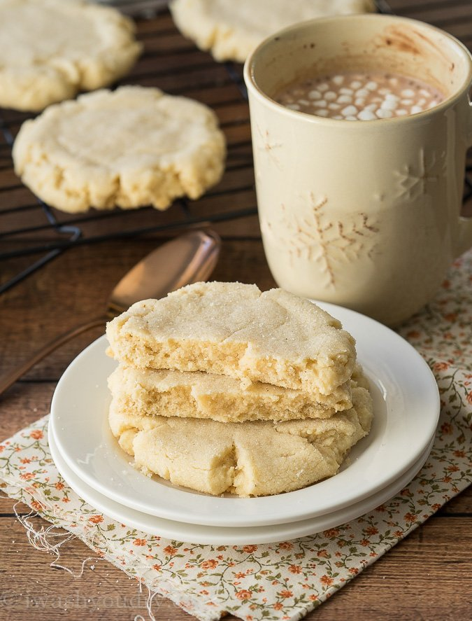Chai Spiced Bakery Sugar Cookies