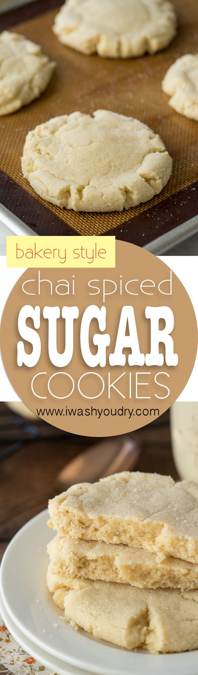 Chai Spiced Bakery Sugar Cookies are just like Paradise Bakery Sugar ...