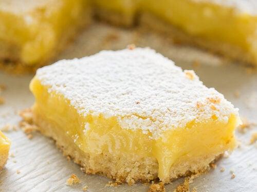 bite of lemon bars recipe