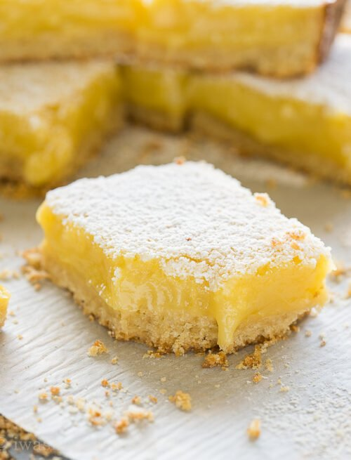 bite of lemon bars recipe